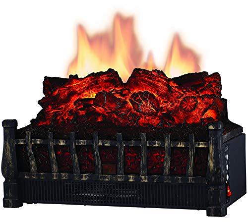 Comfort Glow ELCG251 Electric Log Insert, Heater & Firebox Projection 5,120 BTUs (Fireplace Heater Electric Insert)