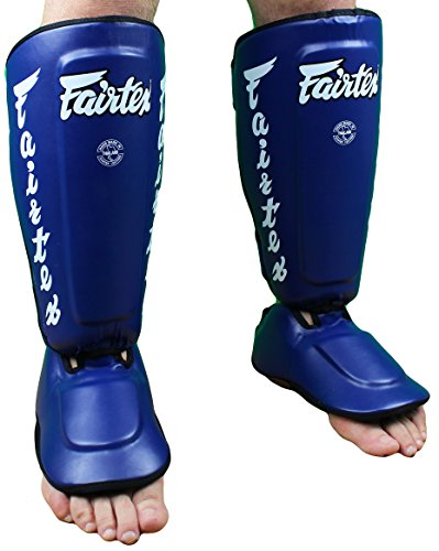Fairtex Twister Shin Guards-Black-Large