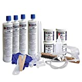 DIY Leaky Basement Wall Crack Repair Kit (20 ft.) for Homeowners - Repair Poured Concrete Foundation Wall Cracks, the Waterproofing Contractor's Preferred Solution