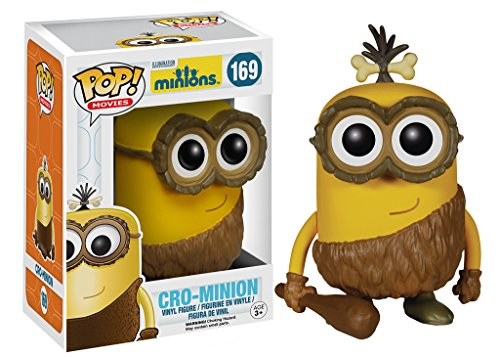Minions Movie Cro-Minion Pop! Vinyl Figure Collectible Toys Collectibles Figurines Collectible Figures and Gifts
