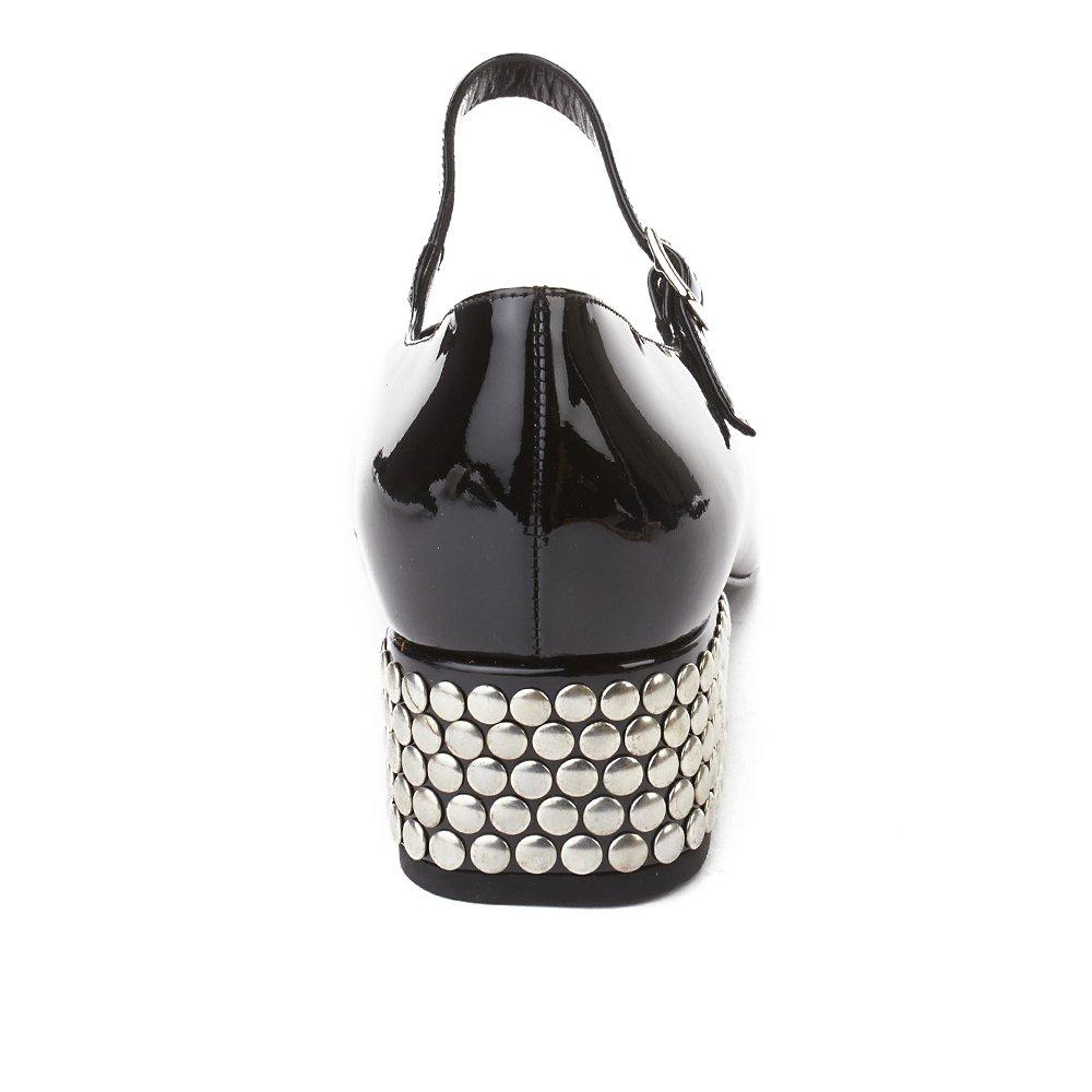 8ddac4dd43d Saint Laurent Women's Babies 40 Studded Heel Mary Jane Shoe Black:  Amazon.co.uk: Shoes & Bags