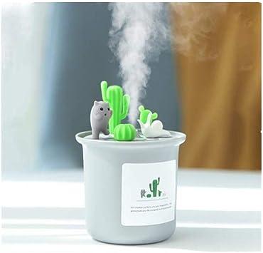 Humidificador, humidificador ultrasónico de aire DIY Decoración ...