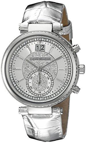 Michael Kors Women's Sawyer Silver-Tone Watch - Shop Micheal Kors