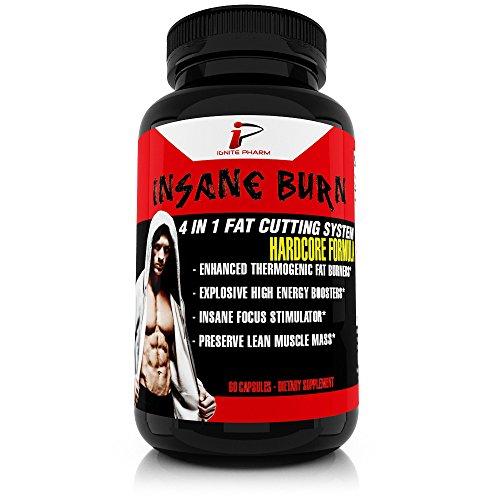 Insane Burn Thermogenic Fat-Burner supplement for Men ...