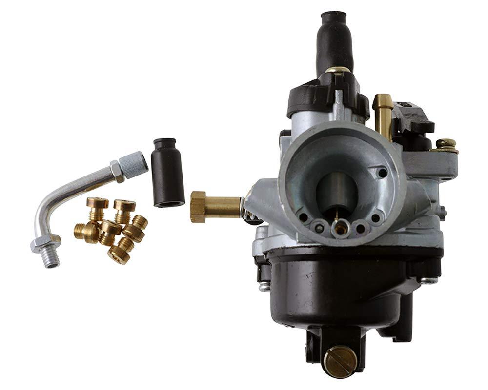 2EXTREME SPORT 17,5mm Vergaser manueller CHOKE f/ür Malaguti Yesterday 50 Elystar Elyseo 50 Peugeot Buxy