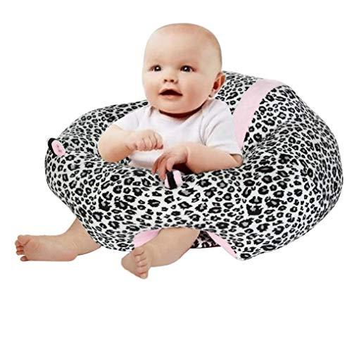 Muxika New Nursing Pillow U Shaped Cuddle Baby Seat Safe Dining Chair Cushion (Black 1)
