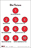 EZ2C Targets Style 17 (25 Pack) Dot Torture Training Shooting Drill