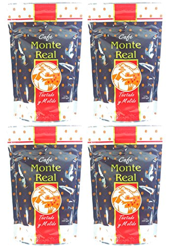 Monte Real Ground Dominican Coffee 4 Bags / Pounds Pack