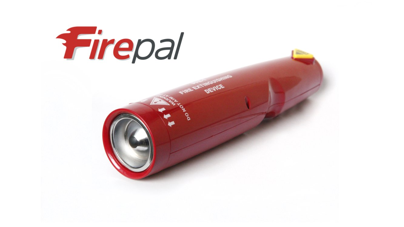 Firepal FP-50: OFFICIAL UK DISTRIBUTOR - BRAND NEW 2018 STOCK - FULL 5 YEAR warranty. Compact and portable non-pressurised fire fighting equipment. New nano-technology, no servicing requirement, little to no residue, easy to use, all common fire types. Wit