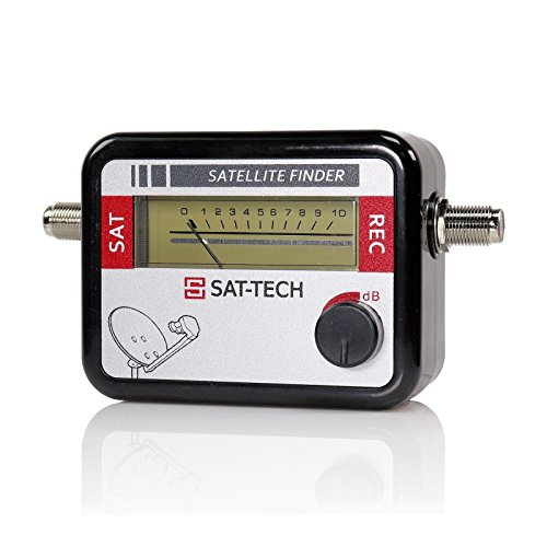 SAT-TECH Satellite Signal Level Meter for Dish Network Directv FTA