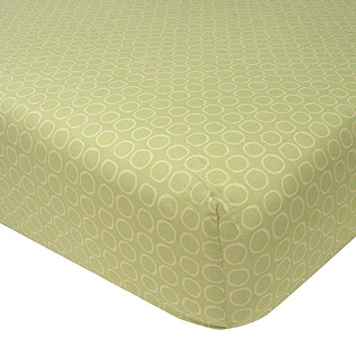 Lambs and Ivy Enchanted Forest Sheet, Green