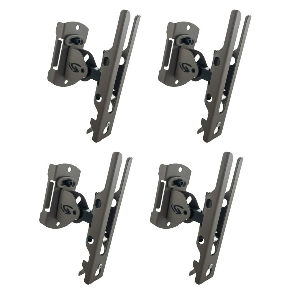 Cuddeback Genius Pan Tilt Lock Mount with Universal Adapter and Mounting Screws, 4-Pack by Cuddeback