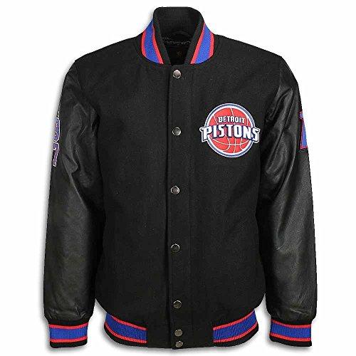 - Detroit Pistons Tipoff Wool Jacket-5XL