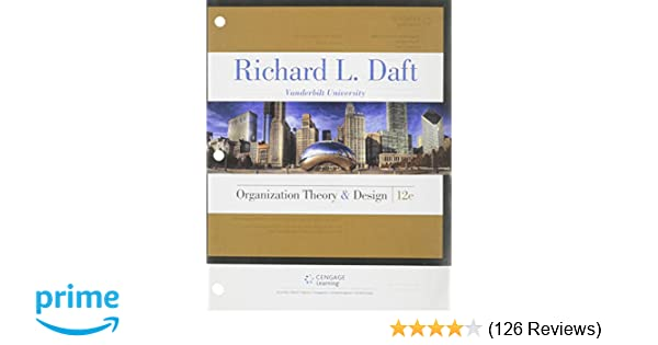 Organization theory and design richard l daft 9781305629943 organization theory and design richard l daft 9781305629943 amazon books fandeluxe Gallery