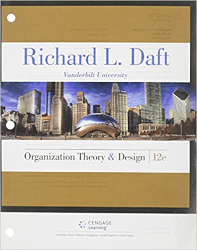 Organization theory and design richard l daft 9781305629943 organization theory and design 12th edition fandeluxe Gallery