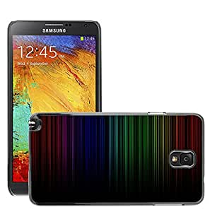 Super Stellar Slim PC Hard Case Cover Skin Armor Shell Protection // M00048976 dark rainbow aero // Samsung Galaxy NOTE 3