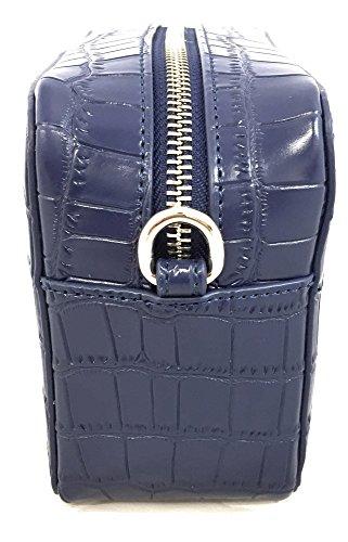 versace jeans borsa a tracolla blu cocco