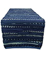 DII Everyday Machine Washable Chindi Rag Placemat, 13 by 19-Inch, Set of 6