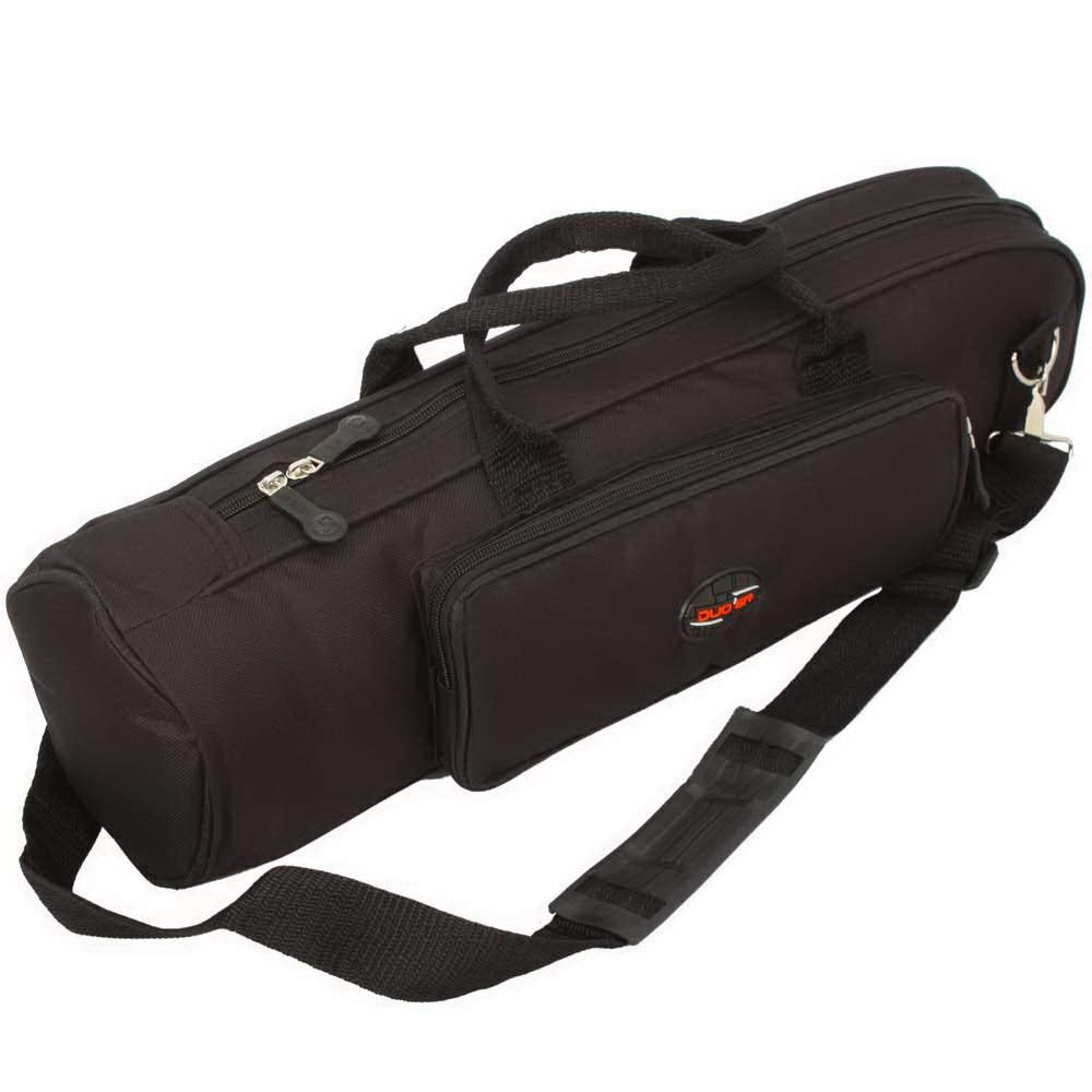High-grade Nylon Trumpet Soft Case Bodycross Portable Dual Purpose Gig Bag Black Generic