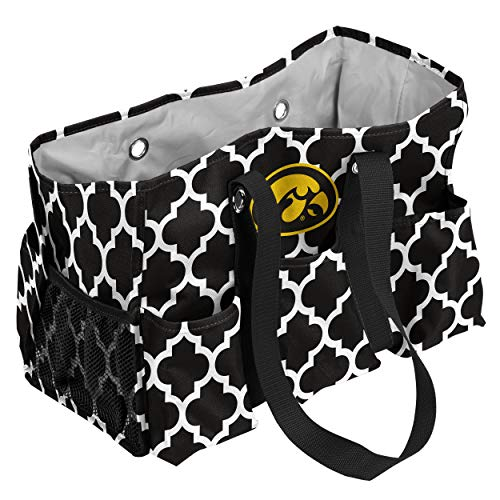 Logo Brands Iowa Hawkeyes Patterned Multi-Pocketed Junior Caddy from Logo Brands