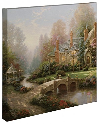 Thomas Kinkade - Beyond Spring Gate Open Edition Wrapped Canvas