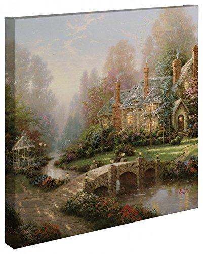 (Thomas Kinkade - Beyond Spring Gate Open Edition Wrapped Canvas)