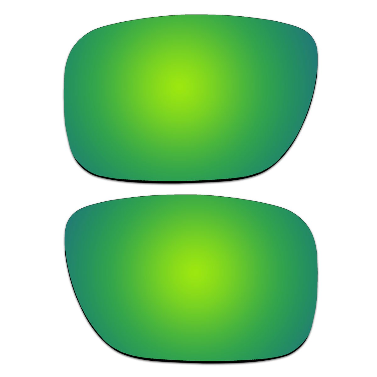 2af5b12f8b Amazon.com  ACOMPATIBLE Replacement Emerald Green Polarized Lenses for  Oakley Holbrook Sunglasses OO9102  Sports   Outdoors