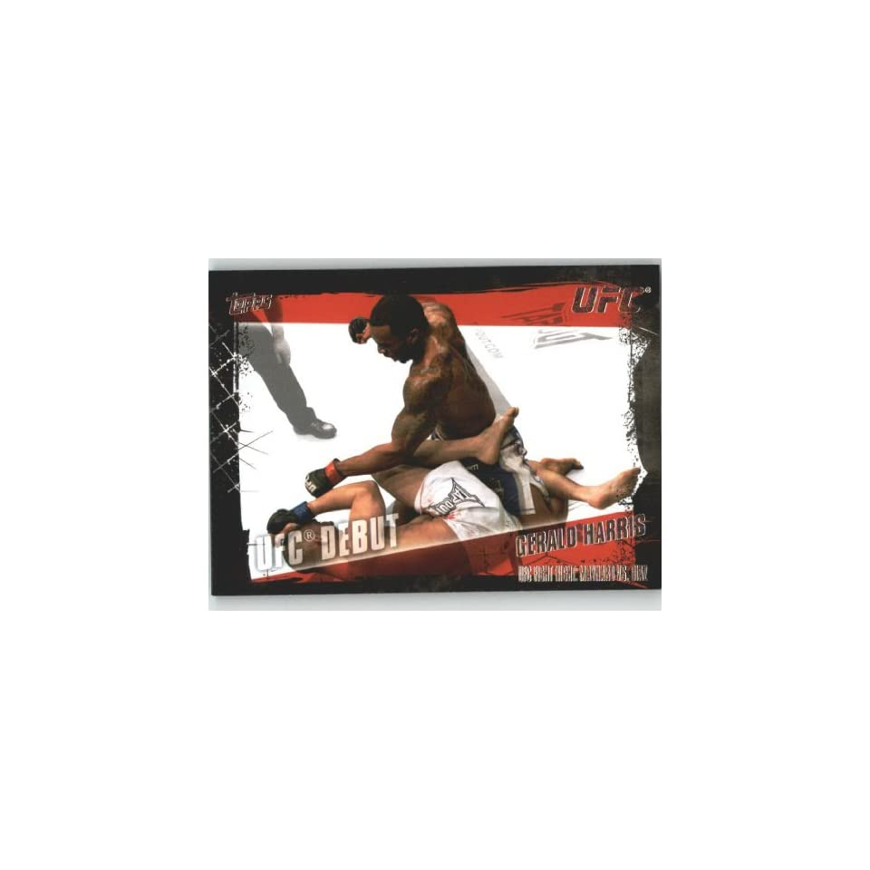 2010 Topps UFC Trading Card # 154 Gerald Harris (Ultimate