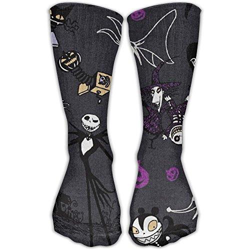 Jadetian Halloween Gentleman Grave Unisex Athletic Breathable Socks Ankle Socks Casual Sport Socks