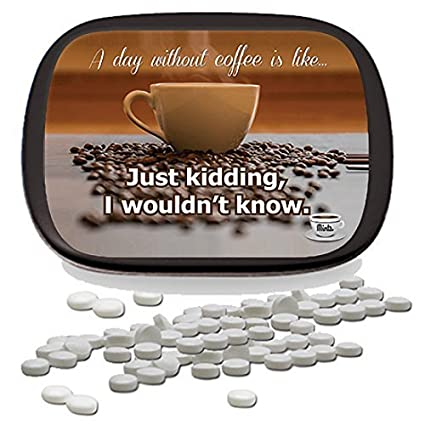 Amazoncom A Day Without Coffee Mints Unique Coffee Gifts For