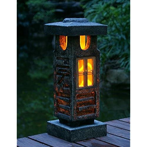 Japanese Garden Lanterns Amazon Com