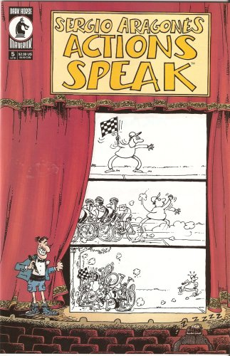 Sergio Aragones Actions Speak #5 May 2001, Sergio Aragones