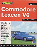 Holden Commodore Vn, VG / Toyota Lexcen Vn 6cyl (1988-91): Product Code 249