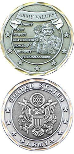 U.S. Army Values Challenge Coin