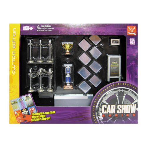 Hobby Gear 1:24 Car Show Set 18410 (Car Accessories Nascar Gear)