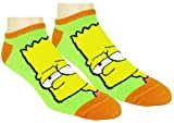 The Simpsons Womens Ankle-No Show Socks 5 Pair Pack (One Size, Simpsons Multi-color)