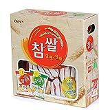 CROWN Korean sweet Rice cake, Pack of 2, 74 count