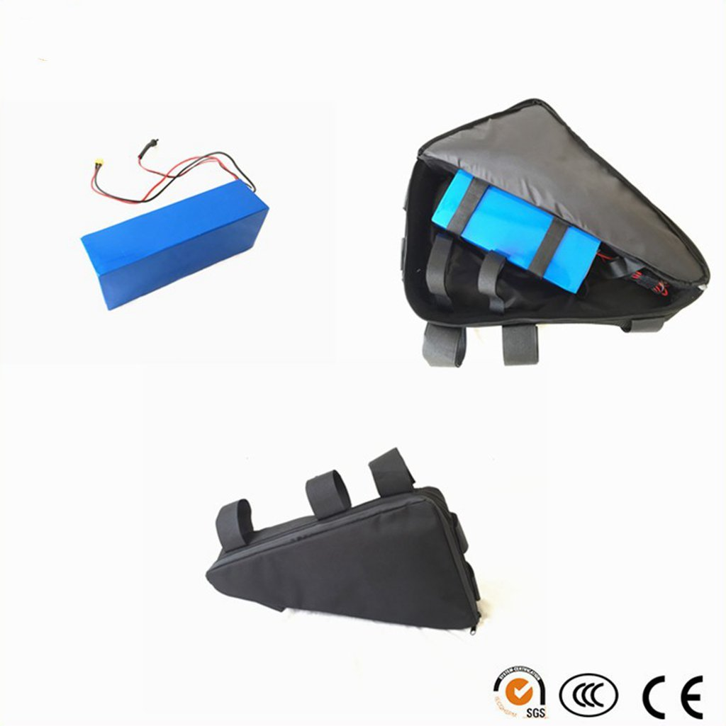 1500w motor 48v 13.2ah Samsung cell 22p electric bike triangle bag lithium battery for 1500w ebike