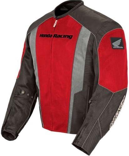 Joe Rocket Honda CBR pour homme en maille filet Street Racing Moto pour femme Rouge//noir//XL
