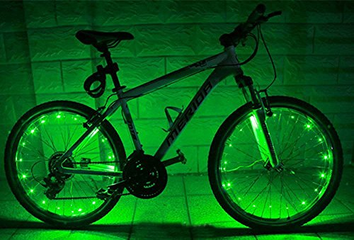 Ultra Bright LED - Bike Wheel Spoke / Light String (1 pack)...