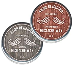 Mustache Wax 2 Pack - Beard & Moustache ...