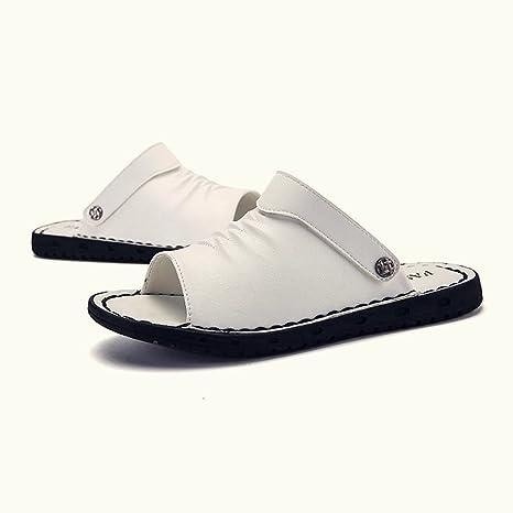 YUBINtuoxie Zapatillas De Playa De Verano para Hombres De Moda Zapatos De Playa Ocio Al Aire