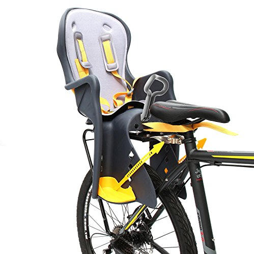 CyclingDeal Bicycle Kids child Rear Baby Seat bike Carrier USA Standard With Rack by CyclingDeal