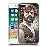 Official HBO Game Of Thrones Tyrion Lannister Character Quotes Soft Gel Case for Apple iPhone 7 Plus / 8 Plus