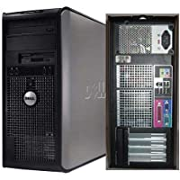 Dell Optiplex Tower Computer 1.8 GHz Core 2 Duo PC, 4GB, 160GB HDD, Windows 10 Home 64 bits (Certified Refurbished)