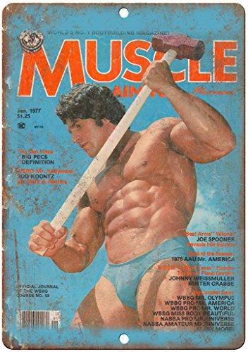 Adkult 1977 Rod Koontz Muscle Magazine Cover 12