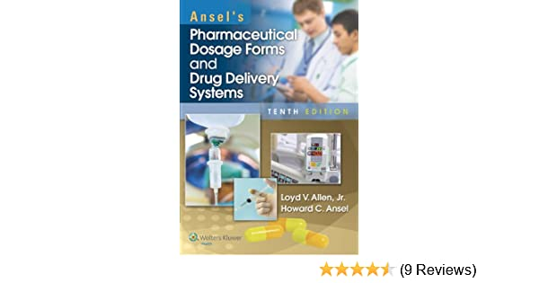 Ansel Pharmaceutical Dosage Forms Pdf