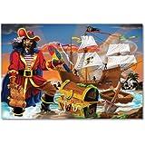 Melissa & Doug Pirate's Bounty Floor Puzzle- 100 Piece