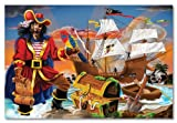 Melissa & Doug Pirate's Bounty Jumbo Jigsaw Floor Puzzle (100 pcs, 2 x 3 feet)