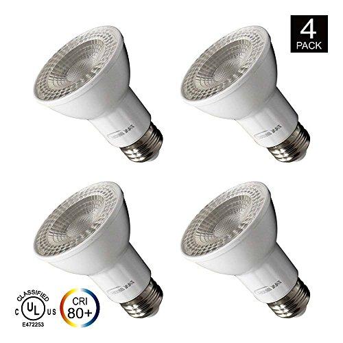 Led Bulbs Par 38, 18W(180W Equivalent),5000 K (Crystal White Glow),E26 Medium Base, Energy Star, Pack of 4 (18W) - 38 Led Spot